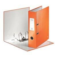 Leitz Wow Lever Arch File A4 85mm Metallic Orange 10050044