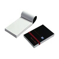 Black n Red Polynote Book Casebound 90gsm Unruled 192pp 105x74mm Ref 100080540 [Pack 10]
