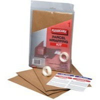 Flexocare Parcel Wrapping Kit Brown Pack of 24 9739PWK01