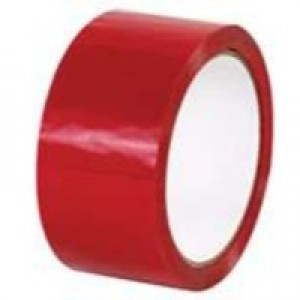 Ambassador Polypropylene Tape 50mm x66 Metres Red 62050664