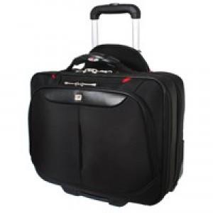 Gini Ferrari On Board Wheeled Laptop Case Black GF565