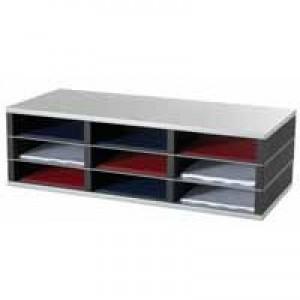 Fast Paper 9-Compartment A4 Sorter SK133D1.35