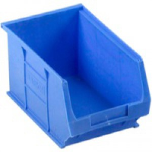 Barton Small Parts Container Open Front Blue 3.4 Litre 150x240x125mm 010031