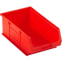 Barton Small Parts Container Open Front Red 9.8 Litre 200x355x125mm 010042