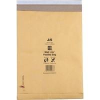 Mail Lite Padded Postal Bag Peel and Seal 365x476mm Pack of 50 MLPB K/7