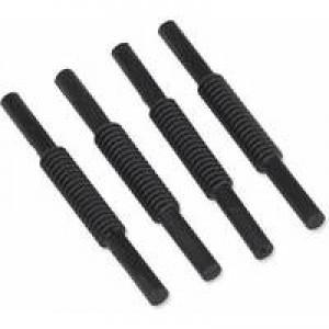 Avery Risers for Letter Trays Plastic 75mm Black Ref 403 [Pack 4]
