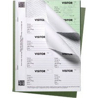 Image for Nobo 25 Page Visitors Badge Slip Book
