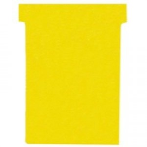 Nobo T-Card A80 Size 3 Yellow Code Pack 100 Code 2003004