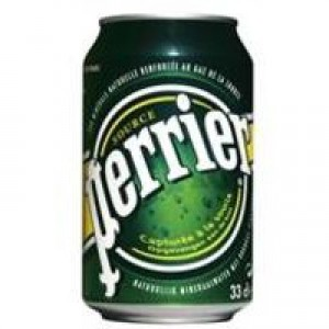 Perrier Sparkling Water 33cl Can Pk 24 11648958