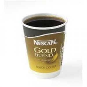 Nescafe And Go Gold Blend Black Coffee Pack of 8 12033810