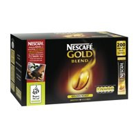 Nescafe Gold Blend Coffee One Cup Stick Sachet Pack of 200 5219616