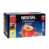 Nescafe Decaffeinated Coffee One Cup Stick Sachet Pack of 200 5219617