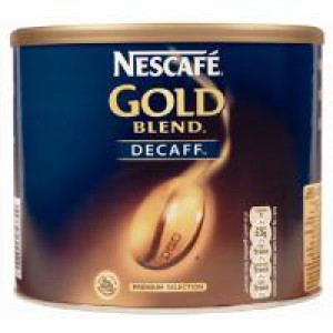 Nescafe Gold Blend Coffee Decaffeinated 500gm 00230