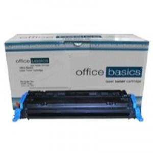 Office Basics HP Colour LaserJet 1600/2600 Laser Toner Cyan Q6001A