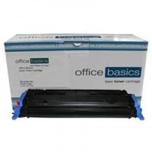 Office Basics HP Colour LaserJet 1600/2600 Laser Toner Magenta Q6003A