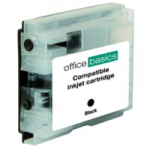 Office Basics Brother Remanufactured Inkjet Cartridge Black LC1000BK