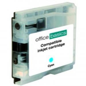 Office Basics Brother Remanufactured Inkjet Cartridge Cyan LC1000C