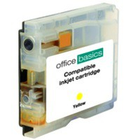 Office Basics Brother Remanufactured Inkjet Cartridge Yellow LC1000Y