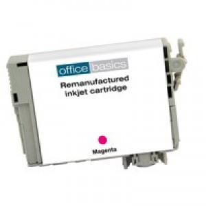 Office Basics Epson T12934010 Inkjet Cartridge Magenta