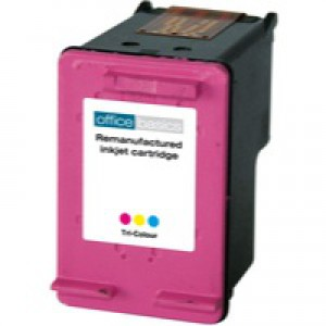 Office Basics HP 300XL CC644EE Inkjet Cartridge Colour
