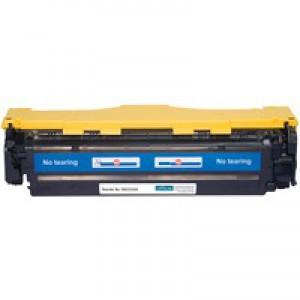 Office Basics HP Laser Toner Cartridge Yellow CC532A