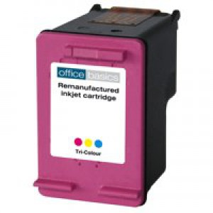 Office Basics HP No301XL Inkjet Cartridge 3-Colour