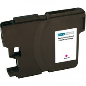 Office Basics Brother LC-1100 Inkjet Cartridge Magenta LC1100M
