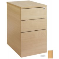 Image for 600mm Deep Desk High Ped - Beech