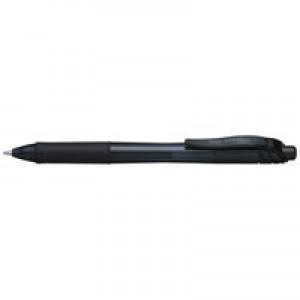 Pentel Energel Retractable Gel Rollerball Pen 1.0mm Black BL110-A