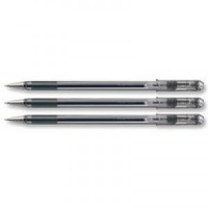 Pentel Superb Medium Ball Point Pen Black77M-A