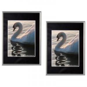 Photo Album Company Fast Frame Silver A4 Code A4MARSIL