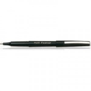 Pilot Fineliner Pen Black SWPPBK