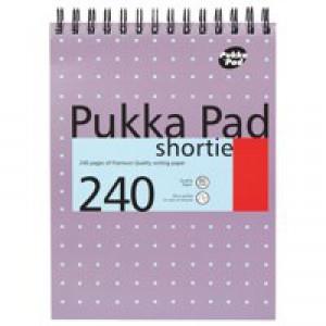 Pukka Pad Shortie Metallic A5 Writing Pad 80gsm SM024