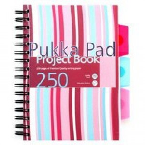 Pukka Pad Project Book A4 250 Pages Ruled Feint PROBA4