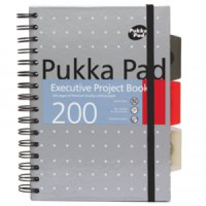Pukka pads A5 Pukka Executive Metallic Project book  6336-met