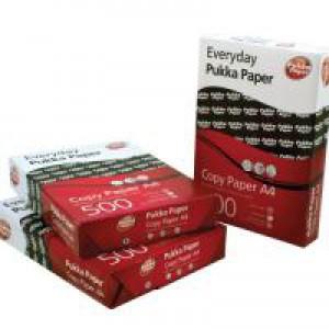 Pukka 80gsm A4 Copier Paper 5 Reams White 6083-PAP