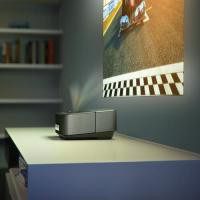 Image for Philips Black Screeneo Wireless Smart LED Projector HDP1590