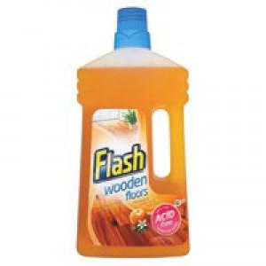 Flash Wooden Floors Cleaner 1 Litre 5413149600898