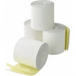 Credit Card Machine Roll 2-Ply 57x55x12.7mm White/Yellow CC2/K
