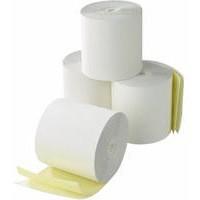 Credit Card Machine Roll 2-Ply 57x55x12.7mm White/Yellow CC2/K
