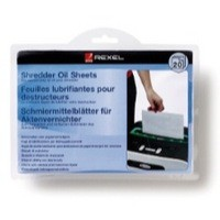 Rexel Oil Sheets 2101949 Pack of 20