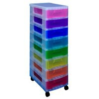 Really Useful Tower 8x7 Drawers Multi-Colour DT1007