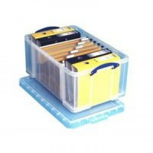Really Useful 64 Litre Office Box Clear 710x440x310mm