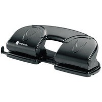 Rexel Value Range 4-Hole Punch Black 08309