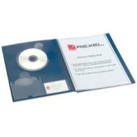 Image for Rexel Clearview Display Book A4 24-Pocket Blue 10320BU