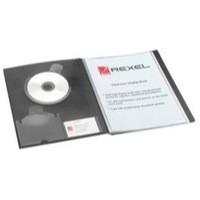 Rexel Clearview Display Book A3 24-Pocket Black 10405BK