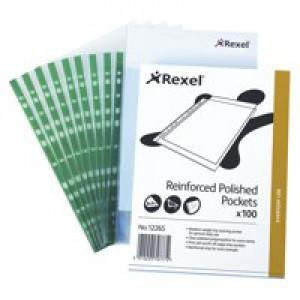 Rexel Copyking Pocket CKP/A4 Polypropylene Pack of 100 12265
