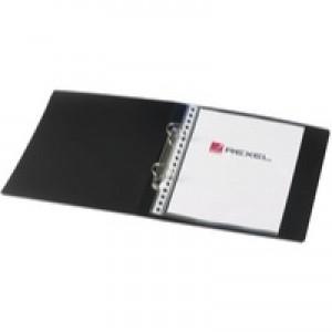 Rexel Budget 2-Ring Binder A5 25mm Polypropylene Black 13428BK