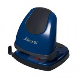 Rexel Easy Touch 230 2-Hole Punch Blue Code 2102641