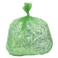 Polymax Refuse Sack 100gm Green Pack of 200 0862